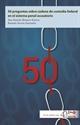 Imagen de 50 preguntas de la cadena de custodia federal en el sistema acusatorio