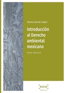 Imagen de Introducción al Derecho ambiental mexicano